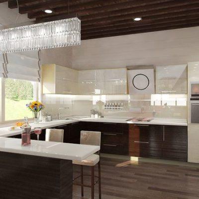 Сучасний кухонний стіл може виглядати в різних варіаціях.