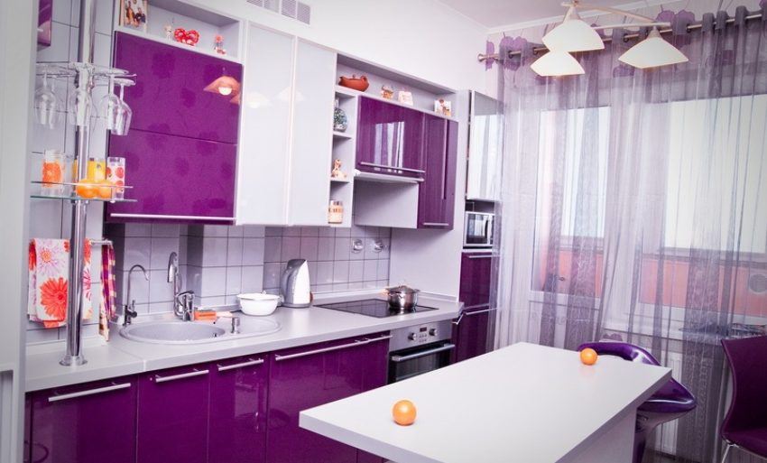 Планування маленької кухні