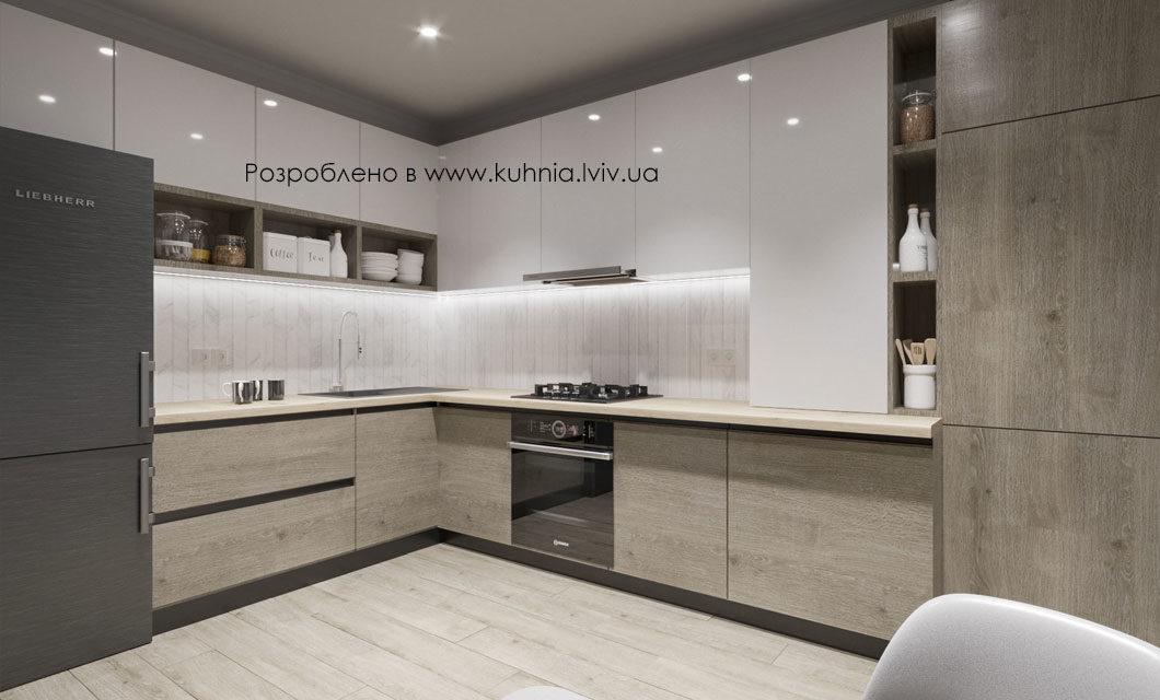3D Візуалізація Кухні