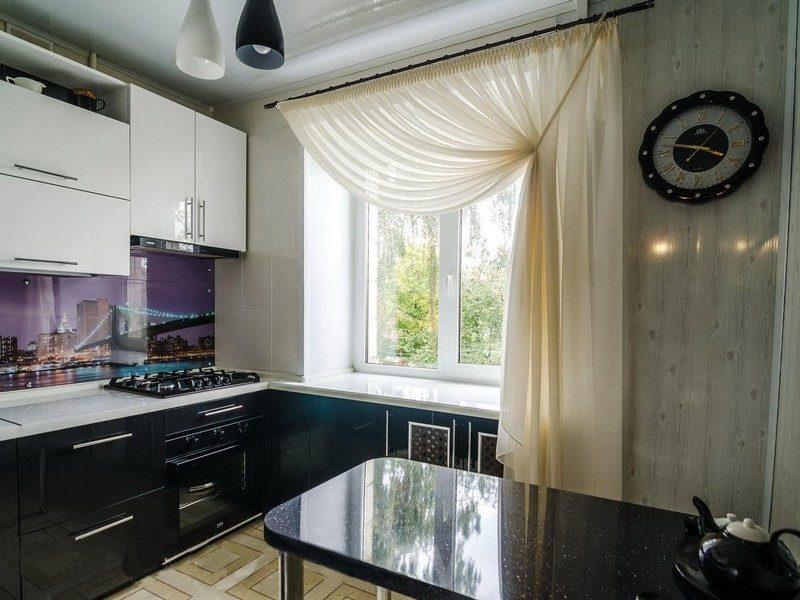 Оформлення вікна на кухні